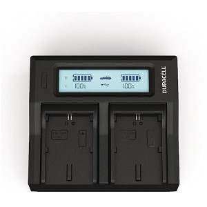 XC10 Canon LP-E6N Dual Battery charger