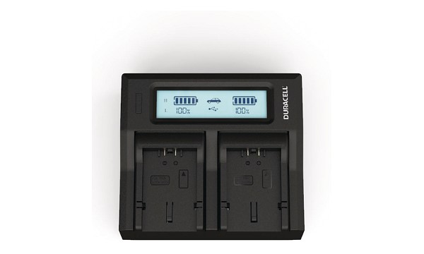 Lumix FZ7K Panasonic CGA-S006 Dual Battery Charger