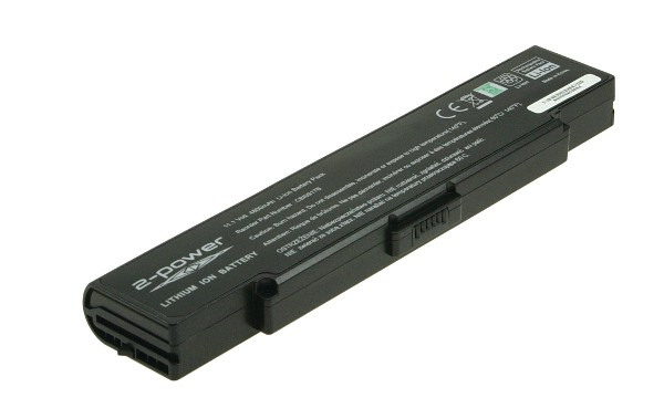 Vaio VGN-FJ180P/G Batteri (6 Celler)