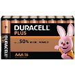 Duracell Plus Power AAA 16 Pakke af Batterier