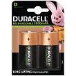 Rechargeable D Cell - 2 Pack